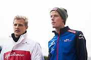 October 18-21, 2018: United States Grand Prix. Marcus Ericsson, Sauber F1 Team, C37,  Brendon Hartley (NZ), Scuderia Toro Rosso Honda, STR13