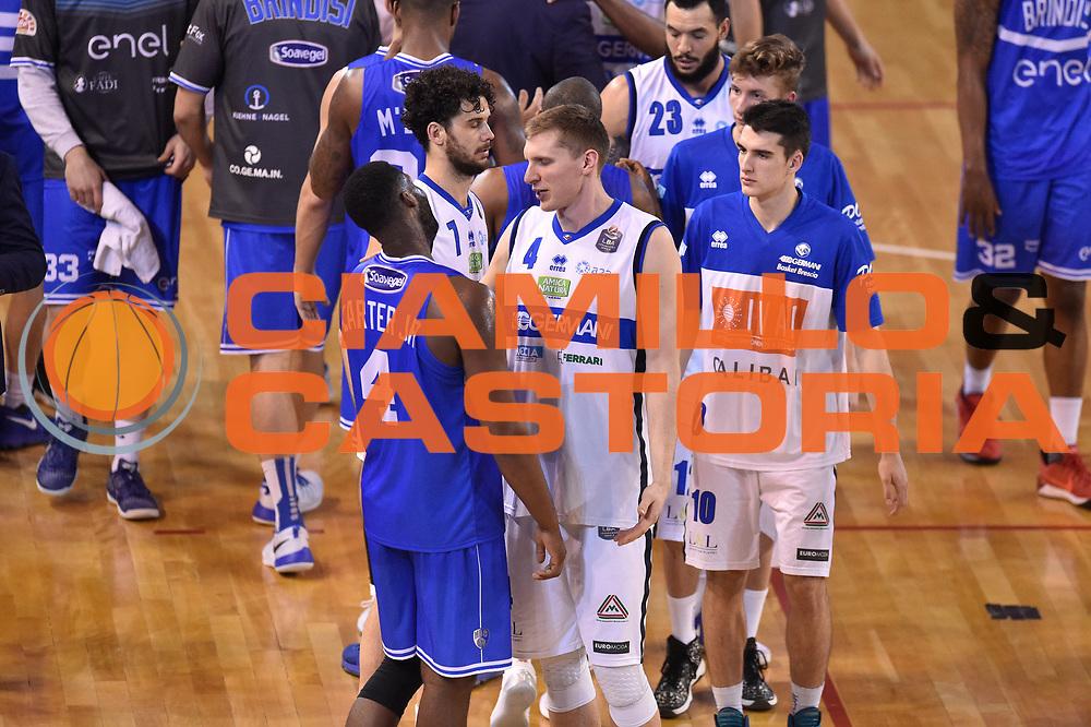 Carter Robert Lawrence , Berggren Jared<br /> Germani Basket Brescia vs Enel Brindisi<br /> Lega Basket Serie A 2016/2017<br /> Brescia 11032017<br /> Foto Ciamillo-Castoria/G. Ciamillo