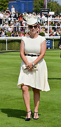 ZARA TINDALL at the 2014 Glorious Goodwood Racing Festival at Goodwood racecourse, West Sussex on 31st July 2014.
