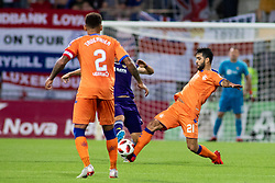 Daniel Candeias of FC Rangers during 2nd Leg football match between NK Maribor and Rangers FC in 3rd Qualifying Round of UEFA Europa League 2018/19, on August 16, 2018 in Stadion Ljudski vrt, Maribor, Slovenia. Photo by Urban Urbanc / Sportida