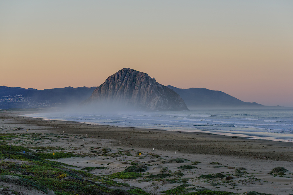 Morro Bay is a waterfront city in San Luis Obispo County, California