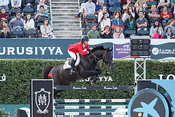 Madden Beezie, (USA), Cortes C <br /> First Round<br /> Furusiyya FEI Nations Cup Jumping Final - Barcelona 2015<br /> © Dirk Caremans<br /> 24/09/15