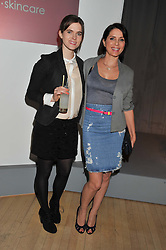 Left to right, JADE DAVIDSON and SADIE FROST at the 2012 Rodial Beautiful Awards held at The Sanderson Hotel, Berners Street, London on 6th March 2012.