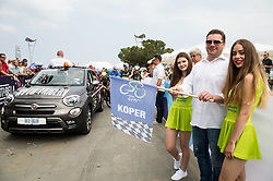 Start in Koper / Capodistria during Stage 1 of 24th Tour of Slovenia 2017 / Tour de Slovenie from Koper to Kocevje (159,4 km) cycling race on June 15, 2017 in Slovenia. Photo by Vid Ponikvar / Sportida