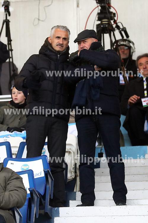 """Foto Filippo Rubin<br /> 10/12/2016 Ferrara (Italia)<br /> Sport Calcio<br /> Spal vs Spezia - Campionato di calcio Serie B ConTe.it 2016/2017 - Stadio """"Paolo Mazza""""<br /> Nella foto: MICHELE PARAMATTI<br /> <br /> Photo Filippo Rubin<br /> December 10, 2016 Ferrara (Italy)<br /> Sport Soccer<br /> Spal vs Spezia - Italian Football Championship League B ConTe.it 2016/2017 - """"Paolo Mazza"""" Stadium <br /> In the pic: MICHELE PARAMATTI"""