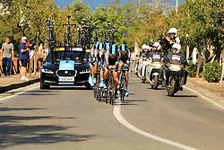 Ischia, Italy - Giro d'Italia Stage 2: Ischia - Forio (TTT) - May 5, 2013 - Sky Procycling