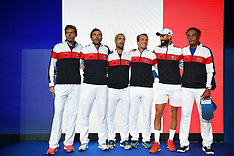 Davis Cup semi final France Vs Spain in Lille France - 14 Sept 2018