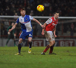 Bristol Rovers' Matt Harrold looks on - Photo mandatory by-line: Dougie Allward/JMP - Tel: Mobile: 07966 386802 14/12/2013 - SPORT - Football - Morecombe - Globe Arena - Morecombe v Bristol Rovers - Sky Bet League Two