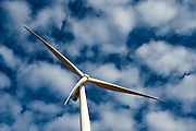 Completed wind turbine at Eskom's Sere Wind Farm