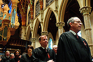 "A procession of judges, law school professors and members of the Catholic Lawyers Guild open the 78th Annual Votive Mass of the Holy Spirit, or ""Red Mass"" celebrated at Holy Name Cathedral in Chicago. September 30, 2012 l Brian J. Morowczynski~ViaPhotos..For use in a single edition of Catholic New World Publications, Archdiocese of Chicago. Further use and/or distribution may be negotiated separately. Contact ViaPhotos at 708-602-0449 or email brian@viaphotos.com."