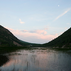 The Tarn at dusk in Acadia National Park Maine USA