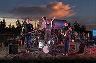 USA, Oregon, Bend, The Roof Rabbits, Punk Band