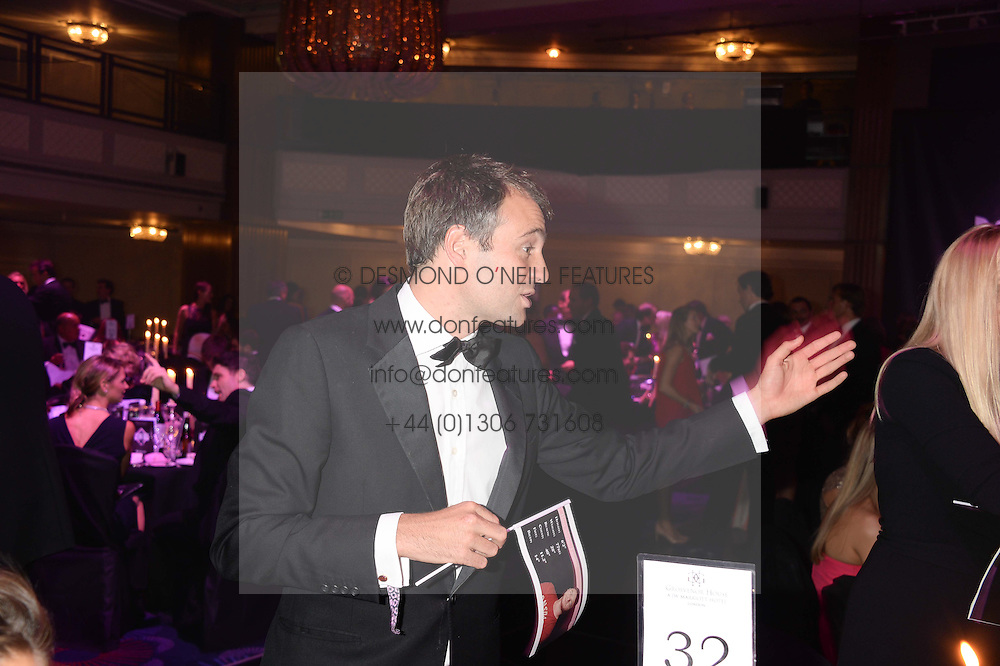 British fine jewellery brand Boodles welcomed guests for the 2013 Boodles Boxing Ball in aid of Starlight Children's Foundation held at the Grosvenor House Hotel, Park Lane, London on 21st September 2013.<br /> Picture Shows:- BEN GOLDSMITH<br /> <br /> Press release - https://www.dropbox.com/s/a3pygc5img14bxk/BBB_2013_press_release.pdf<br /> <br /> For Quotes  on the event call James Amos on 07747 615 003 or email jamesamos@boodles.com. For all other press enquiries please contact luciaroberts@boodles.com (0788 038 3003)