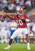 FOOTBALL<br /> Chris Lewis #10<br /> Stanford vs San Jose State<br /> Stanford, CA <br /> Sept 14, 2002