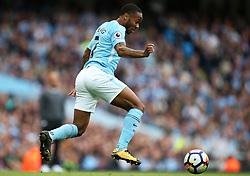 Raheem Sterling of Manchester City - Mandatory by-line: Matt McNulty/JMP - 14/10/2017 - FOOTBALL - Etihad Stadium - Manchester, England - Manchester City v Stoke City - Premier League