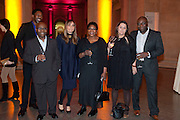OFILI FAMILY, Chris Ofili dinner to celebrate the opening of his exhibition. Tate. London. 25 January 2010