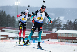 March 14, 2019 - –Stersund, Sweden - 190316 competes in the Men's 4x7,5 km Relay during the IBU World Championships Biathlon on March 16, 2019 in Östersund..Photo: Johan Axelsson / BILDBYRÃ…N / Cop 245 (Credit Image: © Johan Axelsson/Bildbyran via ZUMA Press)