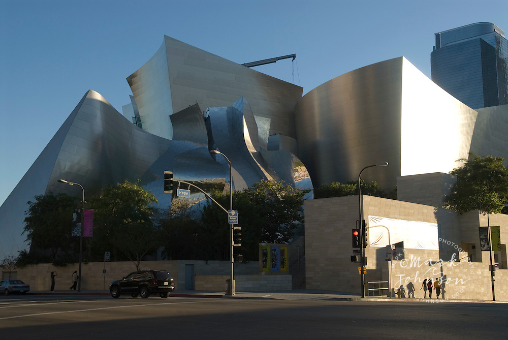 Walt Disney Concert Hall, Downtown Los Angeles, California