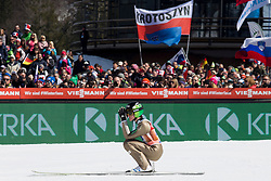 Peter Prevc (SLO) during Ski Flying Hill Team Competition at Day 3 of FIS Ski Jumping World Cup Final 2018, on March 24, 2018 in Planica, Ratece, Slovenia. Photo by Urban Urbanc / Sportida