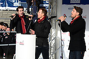 14.NOVEMBER.2013. LONDON<br /> <br /> CODE - HM<br /> BAND BLAKE PERFORM AT THE WALKING WITH THE WOUNDED SOUTH POLE ALLIED CHALLENGE <br /> <br /> BYLINE: EDBIMAGEARCHIVE.CO.UK<br /> <br /> *THIS IMAGE IS STRICTLY FOR UK NEWSPAPERS AND MAGAZINES ONLY*<br /> *FOR WORLD WIDE SALES AND WEB USE PLEASE CONTACT EDBIMAGEARCHIVE - 0208 954 5968*