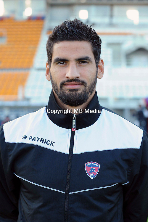 Mehdi JEANNIN of Clermont during the Ligue 2 match between Clermont Foot and RC Strasbourg Alsace at Stade Gabriel Montpied on September 22, 2016 in Clermont-Ferrand, France. (Photo by Jean Paul Thomas/Icon Sport)