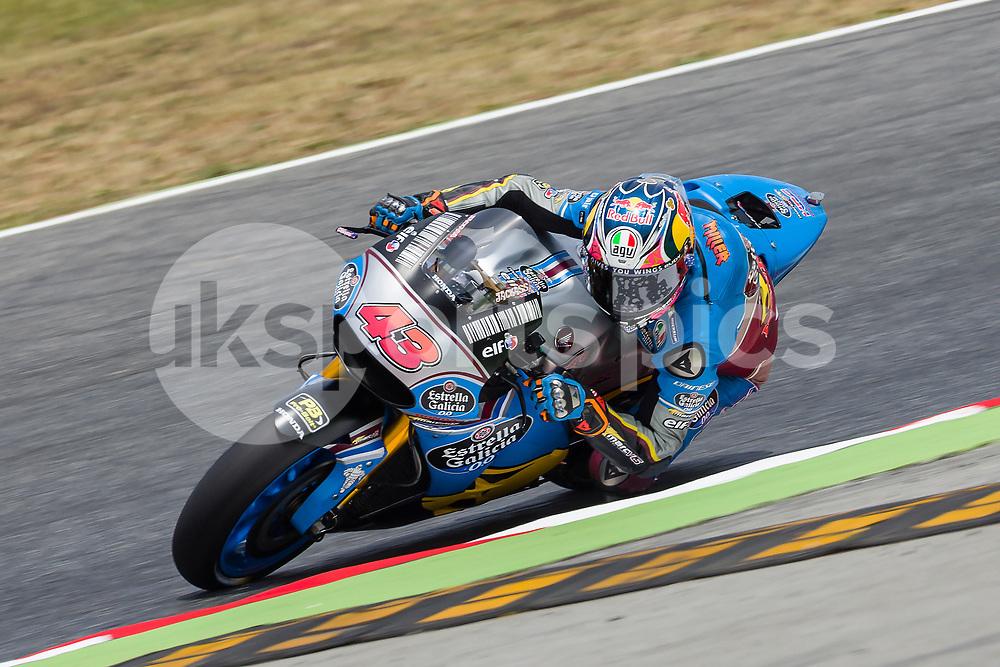 SPAIN - June,9th: MotoGP - Jack Miller(Aus), Eg 0, 0 Marc Vds Team during the MotoGp Grand Prix Monster Energy of Catalunya, in Barcelona-Catalunya Circuit , Barcelona on 9th June 2017 in Barcelona, Spain. (Credit: Urbanandsport / AFP7)