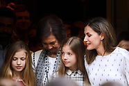 051918 Spanish Royal at Musical Billy Elliot in Madrid