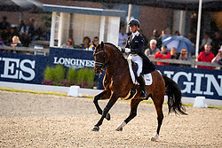 Cornelissen Adeline, NED, Henkie<br /> World Championship Young Dressage Horses - Ermelo 2019<br /> © Hippo Foto - Dirk Caremans<br /> Cornelissen Adeline, NED, Henkie