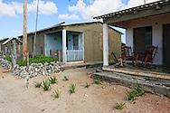 Houses in La Bajada, Pinar del Rio Province, Cuba.