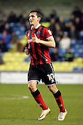 Shrewsbury Town midfielder Louis Dodds (10) giving a thumbs up during the EFL Sky Bet League 1 match between Millwall and Shrewsbury Town at The Den, London, England on 10 December 2016. Photo by Matthew Redman.