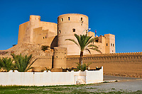 Sultanat d'Oman, gouvernorat de Al-Batina, Rustaq, Al Rustaq fort // Sultanat of Oman, governorate of Al-Batina, Rustaq, Rustaq Fort or Castle