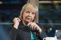 23 JAN 2017, BERLIN/GERMANY:<br /> Hannelore Kraft, SPD, Ministerpraesidentin Nordrhein-Westfalen, während einem Interview, Landesvertretung Nordrhein-Westfalen<br /> IMAGE: 20170123-02-014