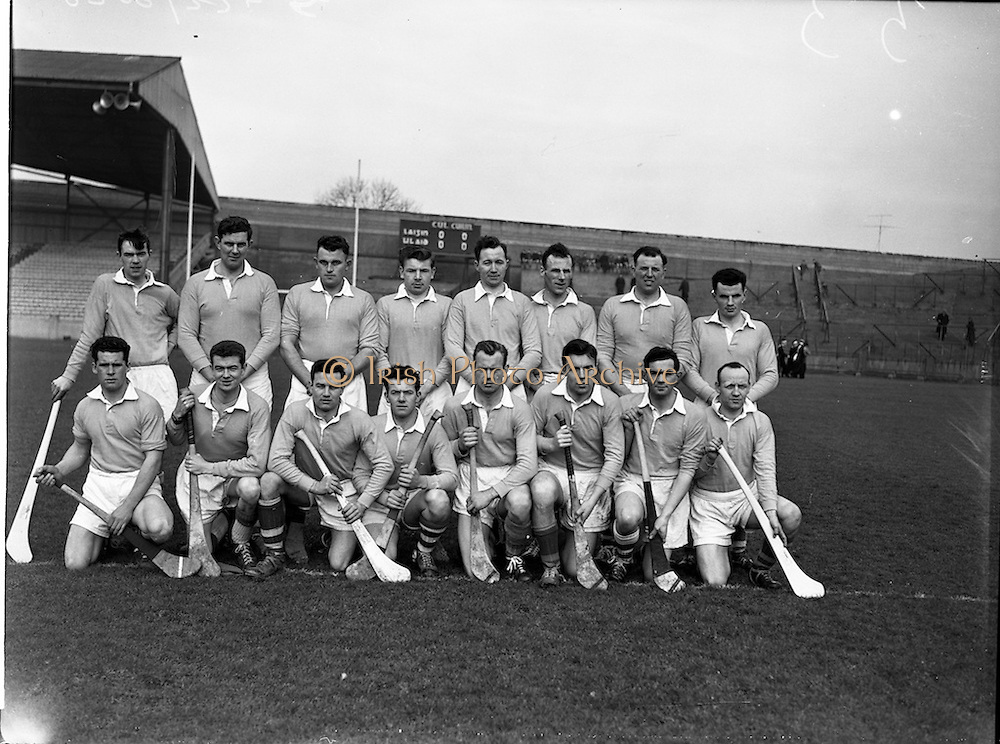 21/02/1960<br /> 02/21/1960<br /> 21 February 1960<br /> Railway Cup Semi-Finals: Ulster v Leinster at Croke Park, Dublin. Ulster team.