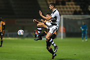 Forest Green Rovers Omar Bugiel(11) controls the ball during the EFL Sky Bet League 2 match between Cambridge United and Forest Green Rovers at the Cambs Glass Stadium, Cambridge, England on 26 September 2017. Photo by Shane Healey.