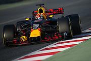 March 3, 2017: Circuit de Catalunya.  Max Verstappen (DEU), Red Bull Racing, RB13