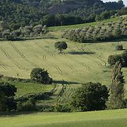 Hilltop towns Pienza Monticchiello Montepulciano