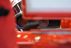 2017?9?16?.????F1??——???F1?????????..9?16??????????????F1?????????????.???? ??????..Team Ferrari driver Sebastian Vettel in the pit building during last practice session of the Singapore F1 Grand Prix Night Race held in Marina Bay street circuit on Sep 16, 2017..By Xinhua, Then Chih Wey..????????????2017?9?15? (Credit Image: © Then Chih Wey/Xinhua via ZUMA Wire)
