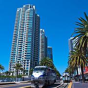 San Diego CA, Skyline, Balboa Park, Coronado, Little Italy