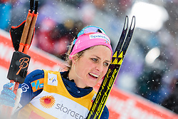 21.02.2016, Salpausselkae Stadion, Lahti, FIN, FIS Weltcup Langlauf, Lahti, Damen Skiathlon, im Bild Therese Johaug (NOR) // Therese Johaug of Norway during Ladies Skiathlon FIS Cross Country World Cup, Lahti Ski Games at the Salpausselkae Stadium in Lahti, Finland on 2016/02/21. EXPA Pictures © 2016, PhotoCredit: EXPA/ JFK