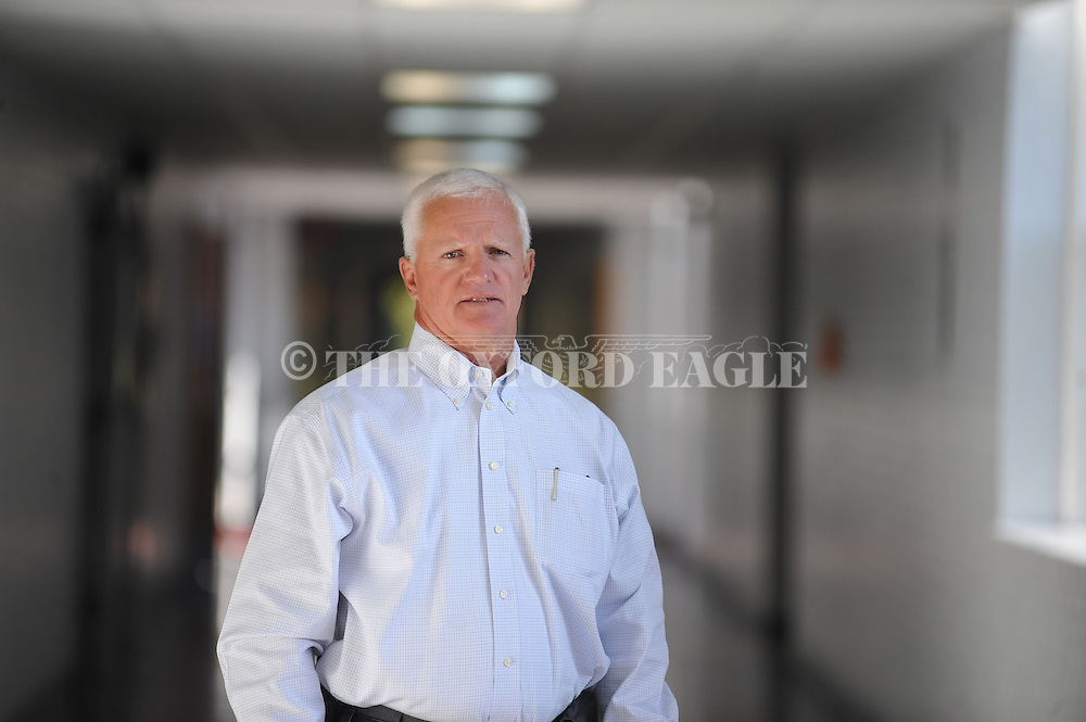 Jim Sappington, in Oxford, Miss. on Tuesday, September 4, 2012, is the principal of Lafayette Middle School.