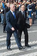 2013/03/23 Roma, funerali del Capo della Polizia. Nella foto Enzo Moavero Milanesi.<br /> Rome, Chief of Police funerals. In the picture Enzo Moavero Milanesi - &copy; PIERPAOLO SCAVUZZO