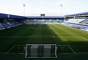 The Lotus Road Stadium before the Sky Bet Championship match between Queens Park Rangers and Wolverhampton Wanderers at the Loftus Road Stadium, London, England on 23 January 2016. Photo by Andy Walter.