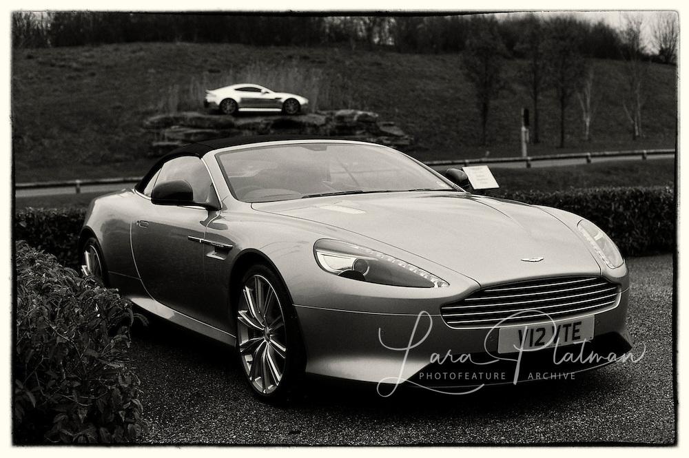 Aston Martin & Leica Roadtrip at Gaydon