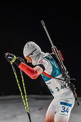 February 12, 2018 - Pyeongchang, Gangwon, South Korea - Weronika Nowakowska ofPoland competing at Women's 10km Pursuit, Biathlon, at olympics at Alpensia biathlon stadium, Pyeongchang, South Korea. on February 12, 2018. Ulrik Pedersen/Nurphoto  (Credit Image: © Ulrik Pedersen/NurPhoto via ZUMA Press)