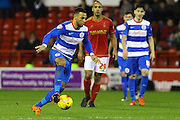 QPR midfielder Matt Phillips on the attack during the Sky Bet Championship match between Nottingham Forest and Queens Park Rangers at the City Ground, Nottingham, England on 26 January 2016. Photo by Aaron Lupton.