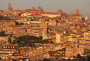 PORTUGAL, DOURO, PORTO skyline with Cathedral and Palace