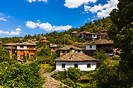 Picturesque bulgarian village in the mountan