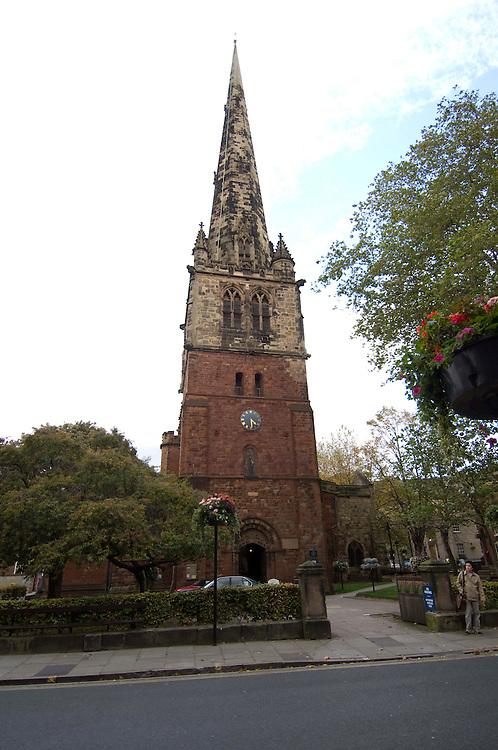 Shrewsbury town, Shropshire, England