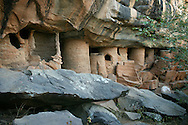 Grottes de Nano et Nok served as a shelter and haven for indigenous people throughout history. Tandjouare. Togo.