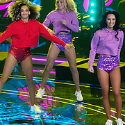 NLD/Hilversum/20180216 - Finale The voice of Holland 2018, danseres